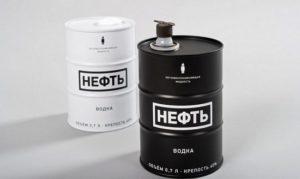 Сколько стоит водка «Нефть» 0,7 литра в железной банке