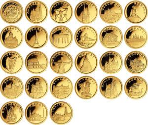 Сколько стоят золотые монеты в Сбербанке, и как их купить