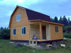 Сколько будет стоить построить дом из бруса
