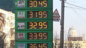 Сколько сегодня стоит бензин в Украине
