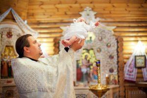 Сколько сейчас стоит крещение ребенка в церкви